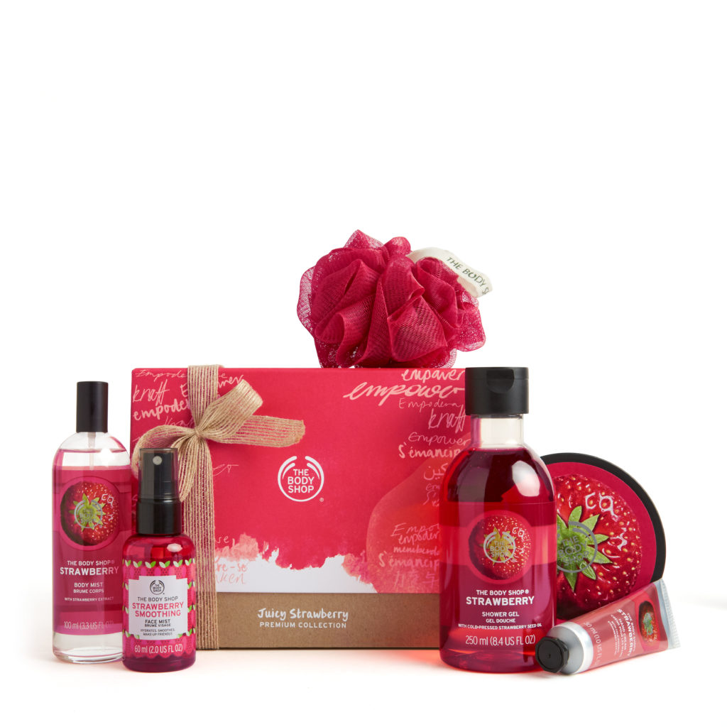 THE BODY SHOP JUICY-STRAWBERRY-PREMIUM-COLLECTION_INR 3980