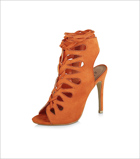 NO DOUBT Cut Out Tie Up Heeled Sandals (Rs 2,995)