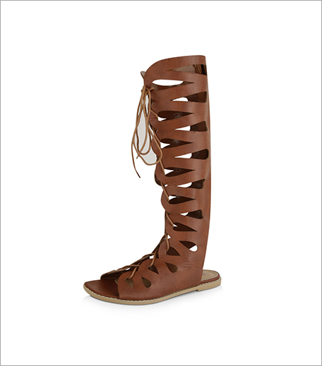 NO DOUBT Lace Up Butterfly Gladiator Sandals (Rs 3,695)