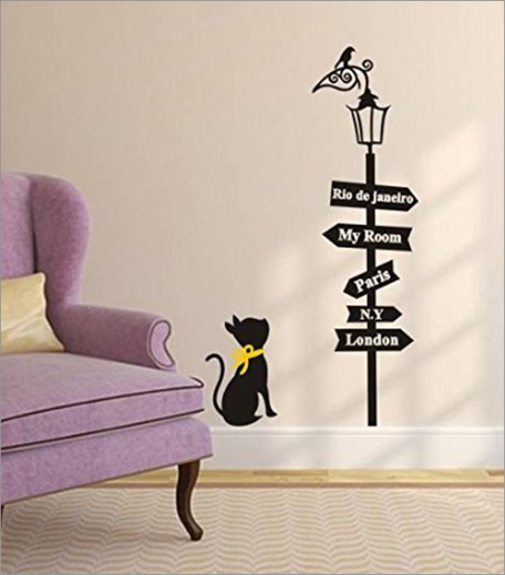 Wall Decal Cat_Hauterfly
