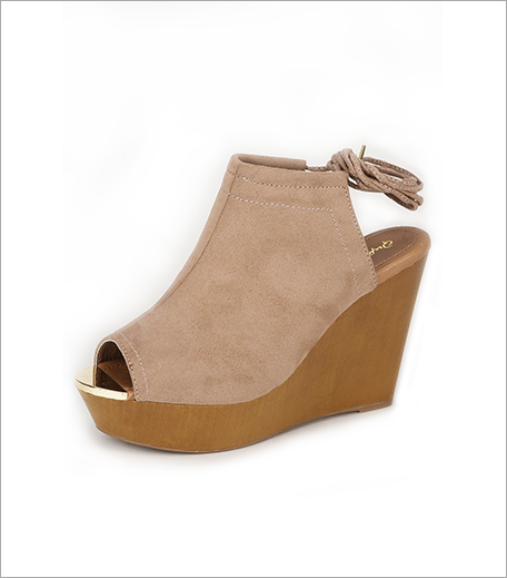QUPID Tie Up Wedge Sandals (Rs 3,099)