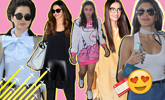6 Bollywood Celebs Whose Airport Style Is On Fleek___Hauterfly