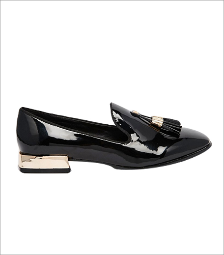 ASOS Daisy Street Patent Tassel Loafer Flat Shoes_Hauterfly