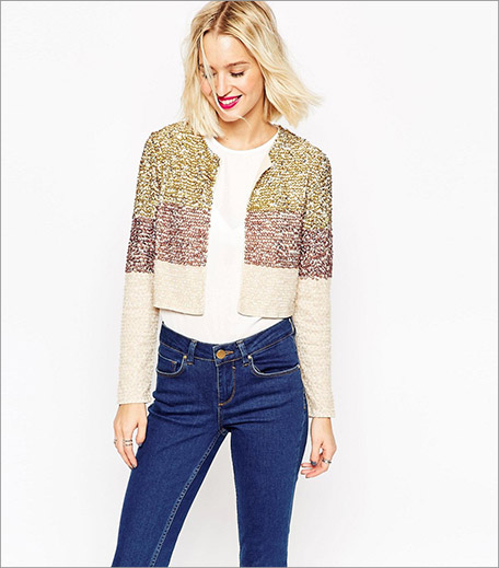 ASOS Jacket With Sequin Embellishment_Cropped Jacket Trend Spring Summer 2016_Hauterfly