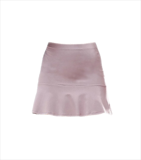 ASOS Mini Skirt with Pep Hem__Hauterfly