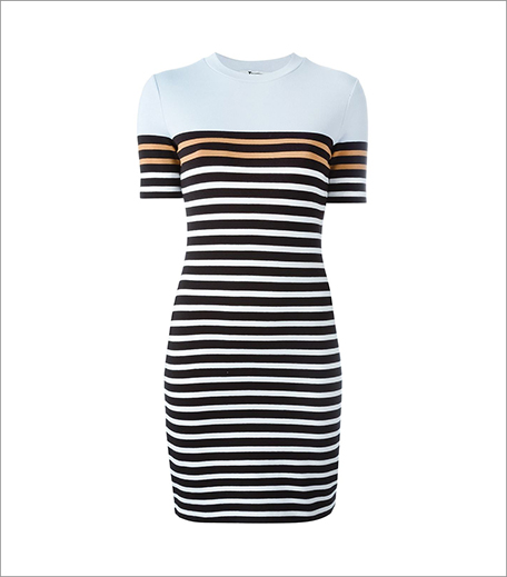 Alexander Wang_Striped T Shirt Dress_Hauterfly