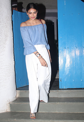 Athiya Shetty at Olive_Get The Look_Hauterfly