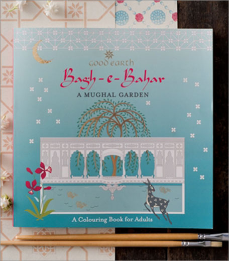 Bagh E Bahar Coloring Book For Adults Inpost_Hauterfly