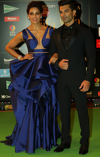 Bipasha Bashu and Karan Singh_IIFA Awards 2016_Hauterfly