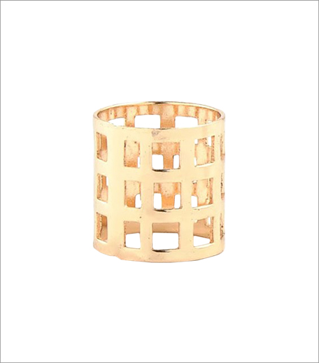 Blur Gold Cage Ring_Asymmetric Dress Edit_Simi's Steal_Hauterfly