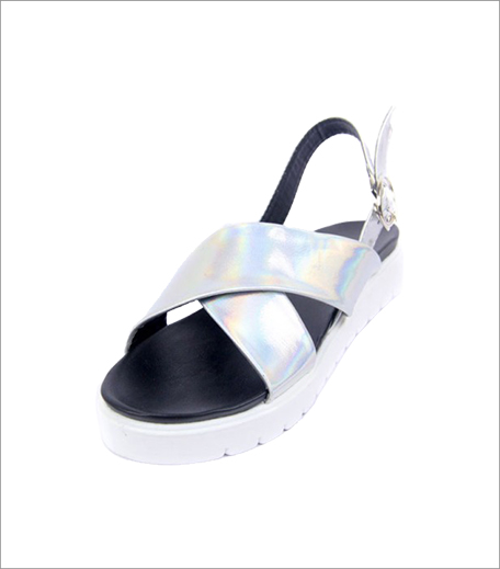 Blur Holographic Cross Sandals_A College It Girl's Wardrobe_Hauterfly