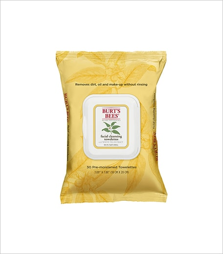 Burt's Bees Facial Towelettes with White Tea Extract_Hauterfly