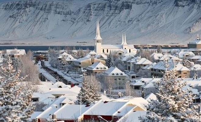 Reykjavik in winter_Hauterfly