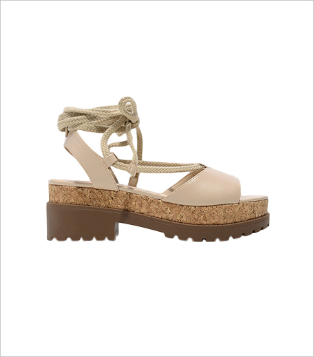 Charles & Keith Ankle Wrap Rope Sandals_Hauterfly