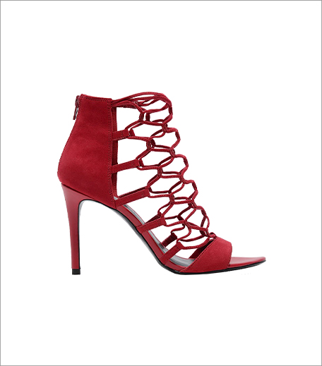Charles & Keith Cage Stilettos_Tuesday Shoesday Red Heels_Hauterfly