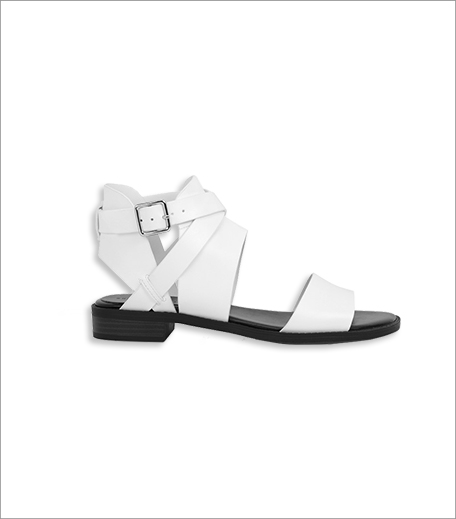 Charles & Keith Wrap Ankle Sandals_Hauterfly