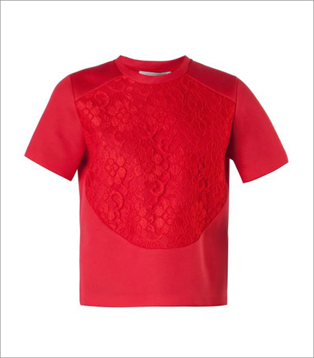 Christopher Kane_Scuba Lace T-shirt_Hauterfly