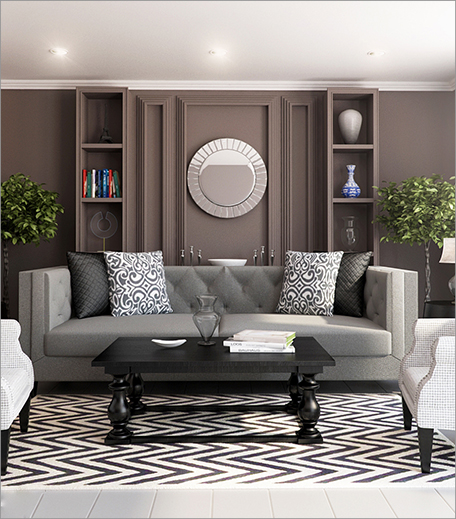 Classic Transitional Living Room_Hauterfly