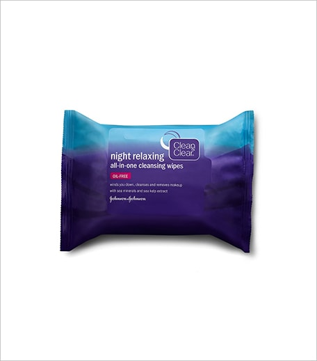 Clean and Clear Night Relaxing All In One Cleansing Wipes_Hauterfly