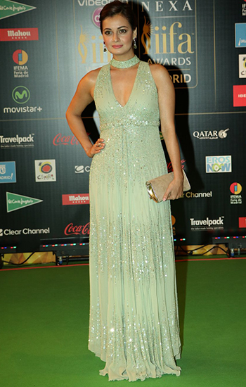 Dia Mirza_IIFA Awards 2016_Hauterfly