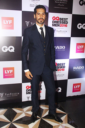 Dino Morea at GQ Best Dressed Men 2016 held at Four Seasons Hotel, Mumbai _ 02 June 2016
