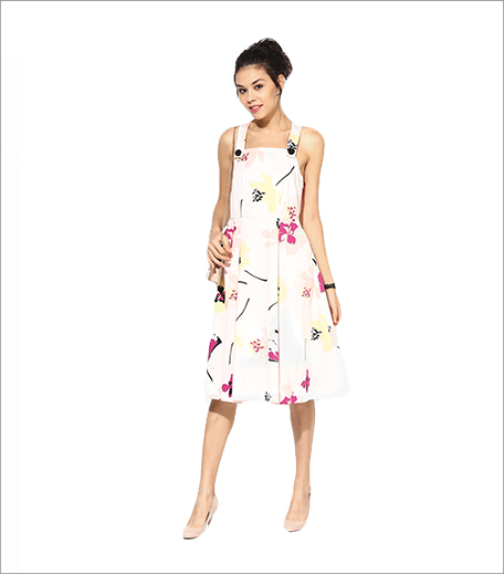 Dorothy Perkins Floral Print Midi Dress_Hauterfly