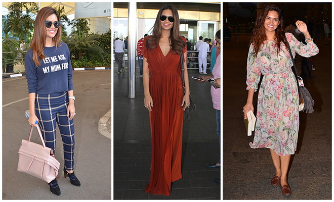 Esha Gupta_Best Of Celebrity Airport Style_Hauterfly