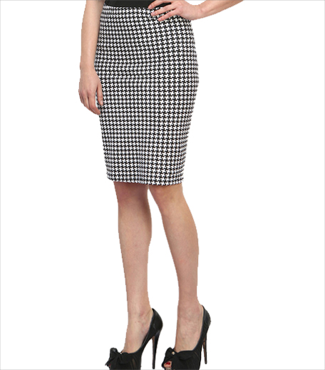 Faballey Black Pencil Skirt_Hauterfly