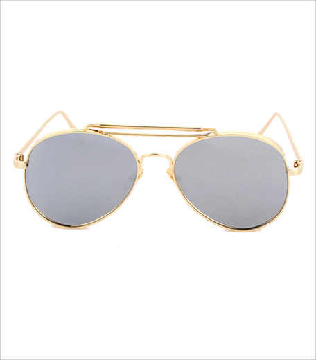 FancyPants Mustang Mixed Metal Sunnies_Hauterfly