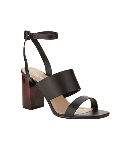 Fashion Union Mid Wood Heel Double Strap Sandals_Hauterfly