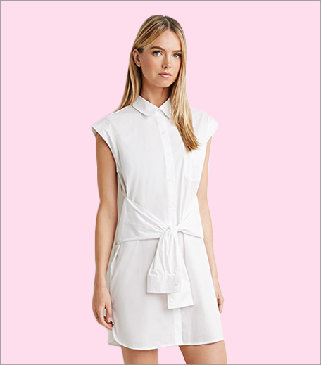 Forever 21 Shirt Dress_Hauterfly