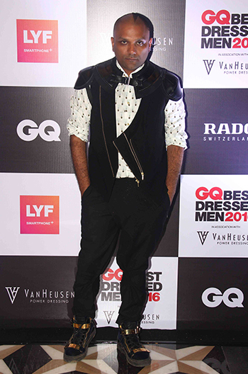 Gaurav Gupta at GQ Best Dressed Men 2016 held at Four Seasons Hotel, Mumbai _ 02 June 2016