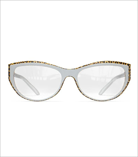 Givenchy White Leopard Frame