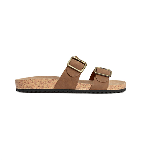 H&M Footbed slide sandals_Hauterfly