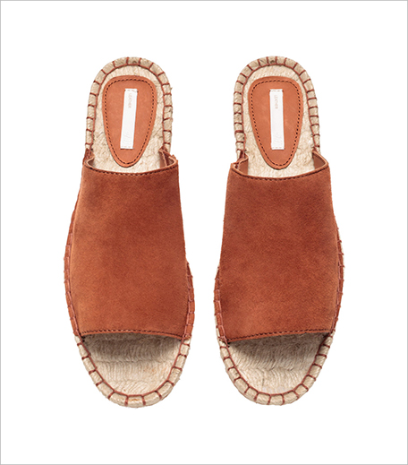 H&M Leather slip-on sandals_Hauterfly
