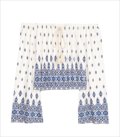 H&M Patterned Off-the-shoulder Top_Hauterfly