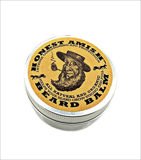 Honest Amish Beard Balm All Natural Leave-in Conditioner