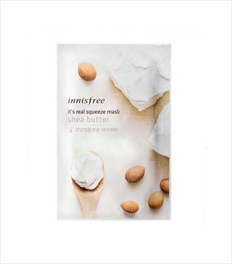 Innisfree It's Real Squeeze Mask - Rice_Hauterfly