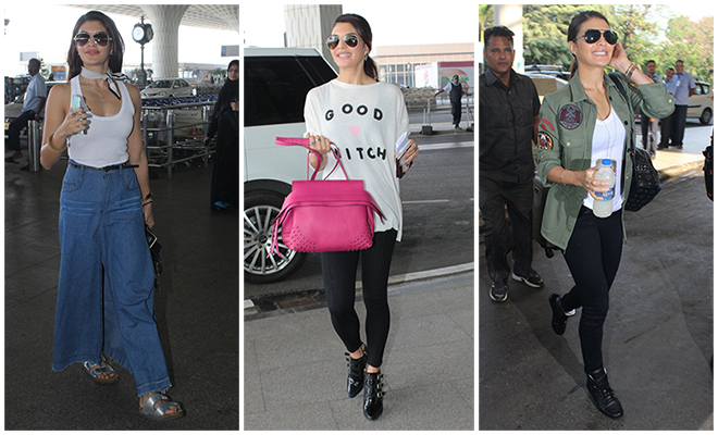 Jacqueline Fernandez_Best Of Celebrity Airport Style_Hauterfly