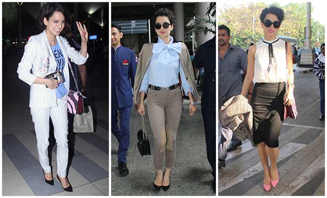 Kangana Ranaut_Best Of Celebrity Airport Style_Hauterfly