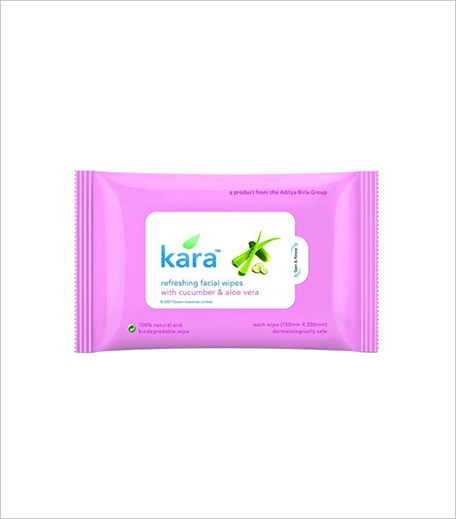 Kara Refreshing Facial Wipes_Hauterfly