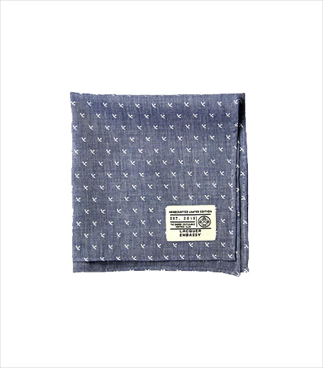 Lacquer Embassy Cross Jack Pocket Square_Hauterfly