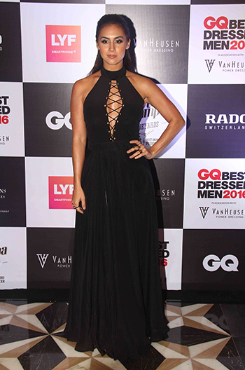 Lauren Gottlieb at GQ Best Dressed Men 2016 held at Four Seasons Hotel, Mumbai _ 02 June 2016