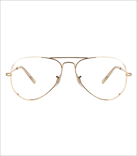 Lee Cooper Gold Aviator Eyeglasses