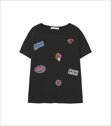 Mango Decorative Patches T-shirt_A College It Girl's Wardrobe_Hauterfly