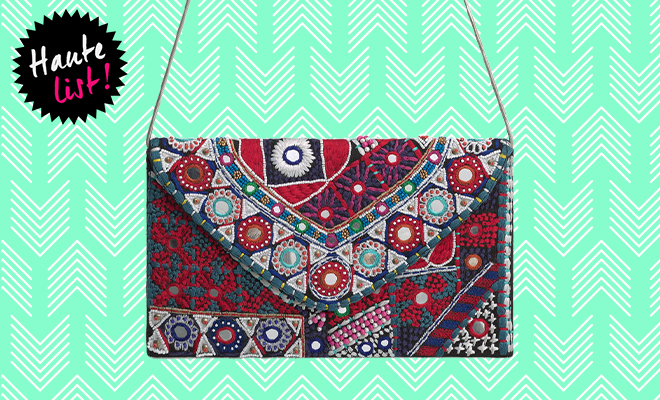 Mango Embroidered envelope bag_Hauterfly