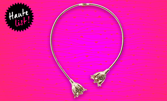 Mango Metallic Rigid Choker_Hauterfly