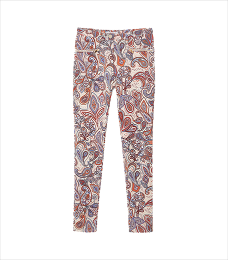 Mango Paisley Print Trousers_Paisley Print WOTW_Hauterfly
