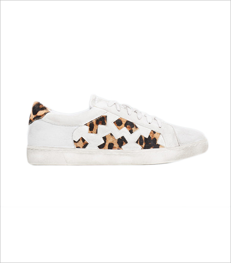 Mango Panels Leather Sneakers_Hauterfly