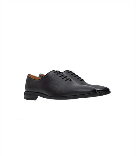 Mango Pebbled Leather Oxford Shoes_Hauterfly